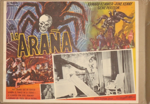 The Spider - Mexican Lobby Card