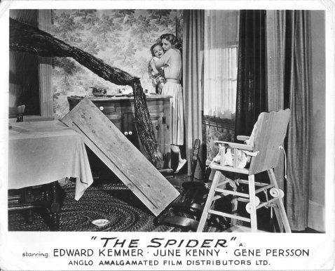 Earth vs The Spider -- Lobby Card