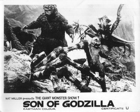 Son of Godzilla -- Lobby Card 1 (UK)