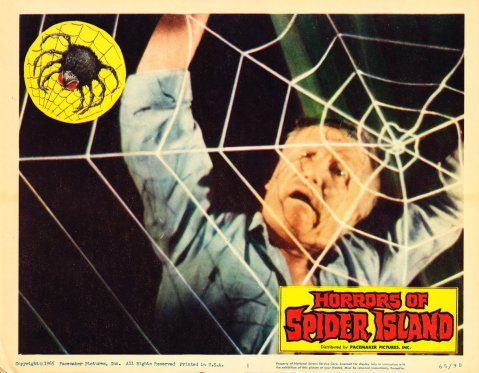 Horrors of Spider Island - Lobby Card