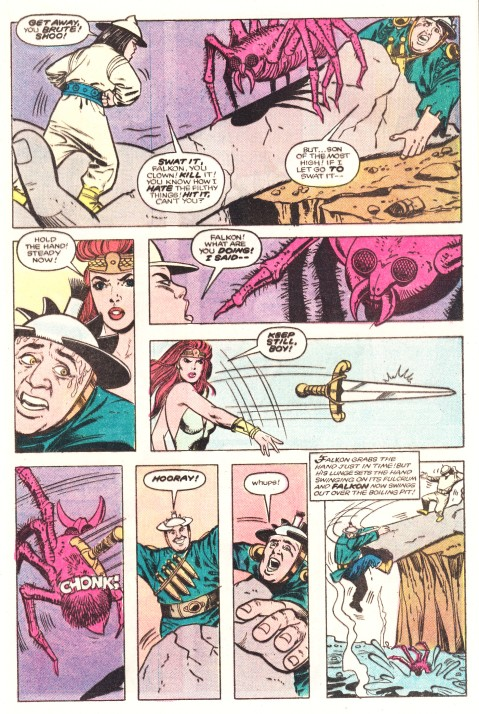 Red Sonja - Comic, Issue 1 (inside)