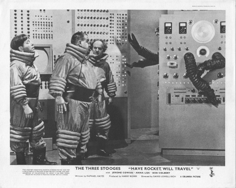 Have Rocket -- Will Travel - Robot Lobby Card