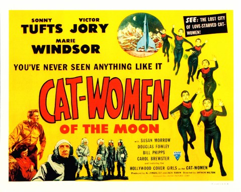 Cat-Women of the Moon - Lobby Card 1