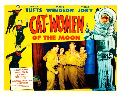 Cat-Women of the Moon (1953) - Lobby Card 7