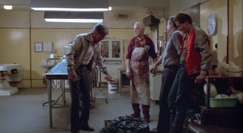 Clu Gulager just wants to dispose of some rabid weasels in the crematorium.