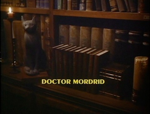 Doctor Mordrid's occult library.