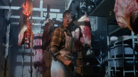Sam Raimi checks the meat locker for the intruder.