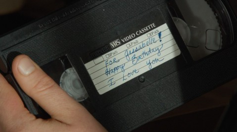 Jessabelle's mother left tapes for her to watch.