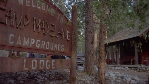 Camp Madeline is our film's cabin in the woods.