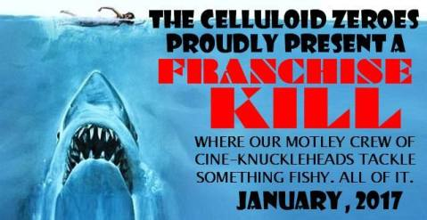This review is part of The Celluloid Zeroes Franchise Kill roundtable on Jaws movies. It's included as an example of the many ways that the franchise is ripped off in other movies.