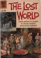 The Dell comic adaptation of Irwin Allen's The Lost World. The company, which later became Gold Key, created the comic Space Family Robinson that Allen adapted for TV as Lost In Space.